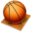 icone bola de basquete
