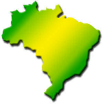ícone do mapa do Brasil