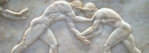 imagem de uma escultura Grega