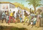 Tela: RUGENDAS, Johann Moritz. Jogar Capoeira