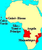 mapa do continete africano