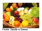 foto mostrando alimentos ricos em sais minerais e vitaminas.