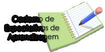ícone para o caderno de expectativas de aprendizagem